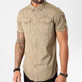 /achat-chemises-manches-courtes/mz72-chemise-manches-courtes-chock-marron-kaki-211603.html