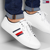 /achat-baskets-basses/tommy-hilfiger-baskets-essential-stripes-detail-sneaker-2685-white-211832.html