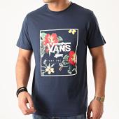 /achat-t-shirts/vans-tee-shirt-print-box-a312sykb-bleu-marine-floral-211784.html