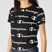 /achat-t-shirts/champion-tee-shirt-slim-femme-112603-noir-212054.html