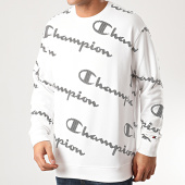 /achat-sweats-col-rond-crewneck/champion-sweat-crewneck-214161-blanc-212072.html
