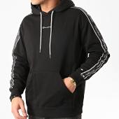/achat-sweats-capuche/champion-sweat-capuche-a-bandes-214225-noir-212081.html