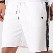 /achat-shorts-jogging/champion-short-jogging-a-bandes-214227-blanc-212114.html