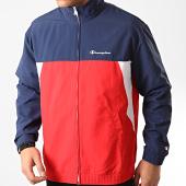 /achat-vestes/champion-veste-zippee-214238-bleu-marine-rouge-212117.html