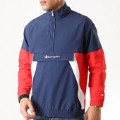 /achat-vestes/champion-veste-outdoor-214240-bleu-marine-rouge-212121.html