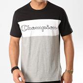 /achat-t-shirts/champion-tee-shirt-214244-noir-gris-chine-212129.html