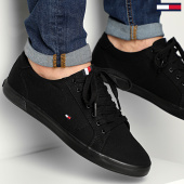 /achat-baskets-basses/tommy-hilfiger--baskets-iconic-long-lace-sneaker-1536-black-black-211952.html