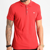/achat-polos-manches-courtes/antony-morato-polo-manches-courtes-mmks01738-rouge-212533.html