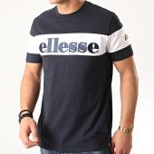 /achat-t-shirts/ellesse-tee-shirt-punto-she08505-bleu-marine-noir-212391.html