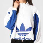 /achat-sweats-col-zippe/adidas-sweat-col-zippe-femme-a-bandes-fl4122-blanc-bleu-roi-212643.html