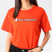 /achat-t-shirts/champion-tee-shirt-femme-112650-orange-212810.html
