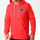 /achat-sweats-capuche/champion-sweat-capuche-214184-rouge-212833.html
