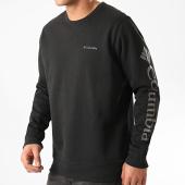 /achat-sweats-col-rond-crewneck/columbia-sweat-crewneck-logo-fleece-noir-212578.html