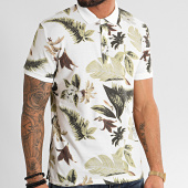 /achat-polos-manches-courtes/mtx-polo-manches-courtes-f1062-blanc-floral-212695.html