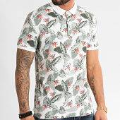 /achat-polos-manches-courtes/mtx-polo-manches-courtes-f1063-blanc-floral-212696.html
