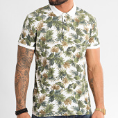 /achat-polos-manches-courtes/mtx-polo-manches-courtes-f1061-blanc-floral-212698.html