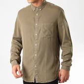 /achat-chemises-manches-longues/celio-chemise-manches-longues-raten-vert-kaki-212875.html