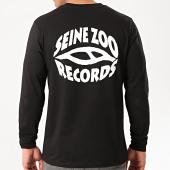 /achat-t-shirts-manches-longues/seine-zoo-tee-shirt-manches-longues-logo-noir-212929.html