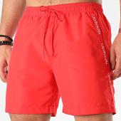 /achat-maillots-de-bain/calvin-klein-short-de-bain-a-bandes-medium-drawstring-0425-rouge-213162.html