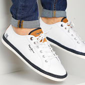 /achat-baskets-basses/pepe-jeans-baskets-maui-basic-pms10280-white-213170.html