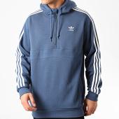 /achat-sweats-capuche/adidas-sweat-capuche-col-zippe-a-bandes-fm3762-bleu-marine-213427.html