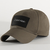 /achat-casquettes-de-baseball/calvin-klein-casquette-leather-patch-bb-cap-5490-vert-kaki-213346.html