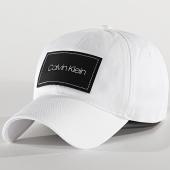 /achat-casquettes-de-baseball/calvin-klein-casquette-leatherpatch-5490-blanc-213347.html