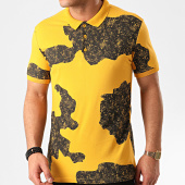 /achat-polos-manches-courtes/ikao-polo-manches-courtes-f830-jaune-noir-213387.html