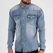 /achat-chemises-manches-longues/mackten-chemise-jean-manches-longues-ca-627-bleu-denim-213456.html