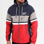 /achat-vestes/superdry-veste-zippee-a-capuche-summer-house-m5010040a-bleu-marine-rouge-213322.html