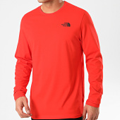 /achat-t-shirts-manches-longues/the-north-face-tee-shirt-a-manches-longues-easy-a2tx1-rouge-213385.html
