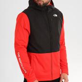 /achat-vestes/the-north-face-veste-zippee-capuche-overlay-a4cfx-rouge-noir-213436.html