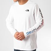 /achat-t-shirts-manches-longues/the-north-face-tee-shirt-manches-longues-graphic-flow-a4927-blanc-213477.html