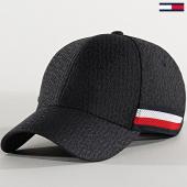 /achat-casquettes-de-baseball/tommy-hilfiger-casquette-tonal-monogram-5769-noir-213389.html