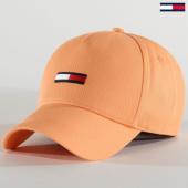 /achat-casquettes-de-baseball/tommy-jeans-casquette-femme-flag-cap-8059-peche-213420.html