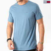 /achat-t-shirts/tommy-jeans-tee-shirt-essential-solid-4577-bleu-213429.html
