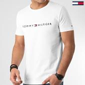 /achat-t-shirts/tommy-hilfiger-tee-shirt-logo-1434-blanc-213434.html