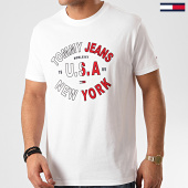 /achat-t-shirts/tommy-jeans-tee-shirt-arched-graphic-8100-blanc-213435.html