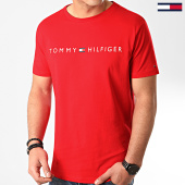 /achat-t-shirts/tommy-hilfiger-tee-shirt-logo-1434-rouge-213504.html