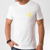 /achat-t-shirts/calvin-klein-tee-shirt-institutional-back-pop-logo-5175-blanc-213554.html