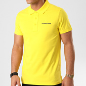 /achat-polos-manches-courtes/calvin-klein-polo-manches-courtes-stretch-institutional-5344-jaune-213559.html
