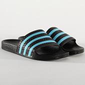 /achat-claquettes-sandales/adidas-claquettes-adilette-ef5503-core-black-blue-glow-213833.html