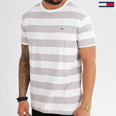 /achat-t-shirts/tommy-hilfiger-jeans-tee-shirt-a-rayures-bold-stripe-7810-blanc-gris-chine-213749.html