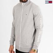 /achat-vestes/tommy-hilfiger-jeans-veste-zippee-essential-7931-gris-chine-213761.html
