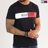 /achat-t-shirts/tommy-hilfiger-tee-shirt-block-stripe-3331-bleu-marine-213868.html