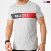/achat-t-shirts/tommy-hilfiger-tee-shirt-block-stripe-3331-gris-chine-213870.html