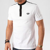 /achat-polos-manches-courtes/antony-morato-polo-manches-courtes-essential-20-mmks01698-blanc-214066.html