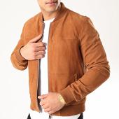 /achat-vestes-cuir/redskins-veste-zippee-suedine-bower-camel-214084.html