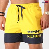 /achat-maillots-de-bain/tommy-hilfiger-short-de-bain-medium-drawstring-1682-jaune-214221.html