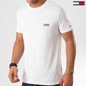 /achat-t-shirts/tommy-hilfiger-jeans-tee-shirt-texture-logo-7813-blanc-214425.html
